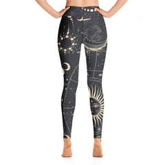 Moon Chart Yoga Leggings