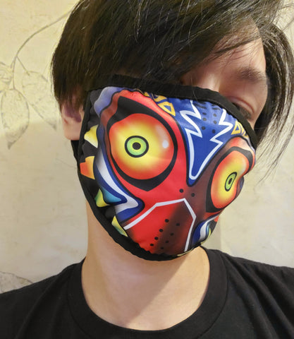 Majoras Mask Zelda Face Mask