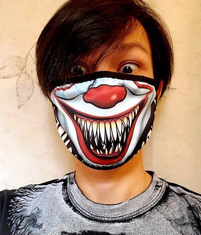 Pennywise Stephen King IT Face Mask