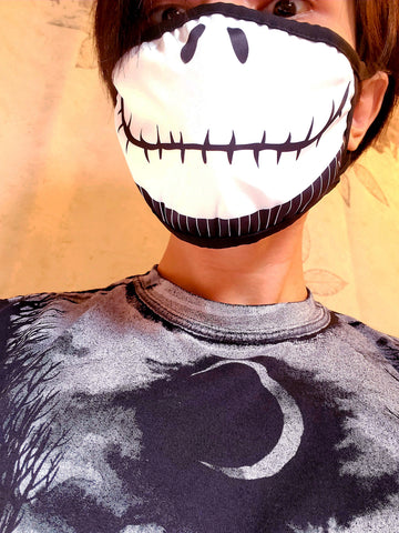 Jack Skellington The Nightmare Before Christmas Face Mask
