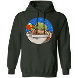 Baby Yoda None of My Business Pullover Hoodie - Teem Meme