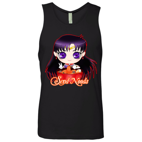Sailor Mars Send Noods Next Level Men's Tank - Teem Meme