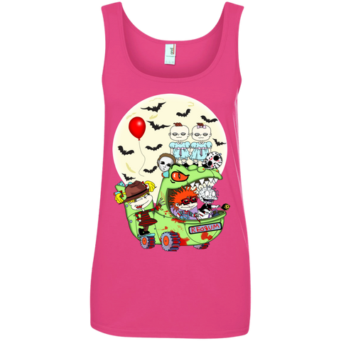 Spooky Babies Ladies' Tank Top - Teem Meme