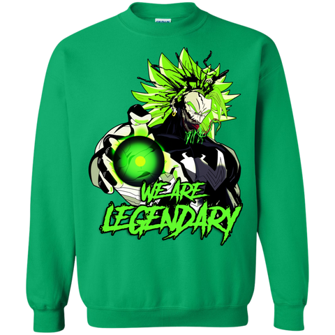 Toxic Broccoli Crewneck Sweater - Teem Meme