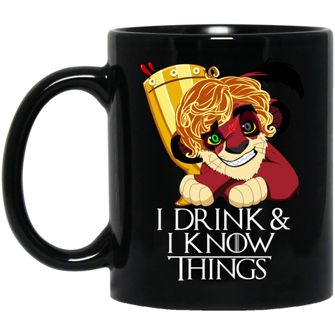 The Tyrion King 11 oz. Black Mug - Teem Meme