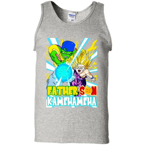 Piccolo Is My Real Dad Cotton Tank Top - Teem Meme