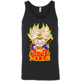 Trunks Send Noods Bella Unisex Tank - Teem Meme