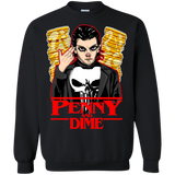 Penny and Dime Crewneck Sweater - Teem Meme