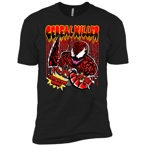 Carnage Cereal Killer Next Level Premium Tee - Teem Meme