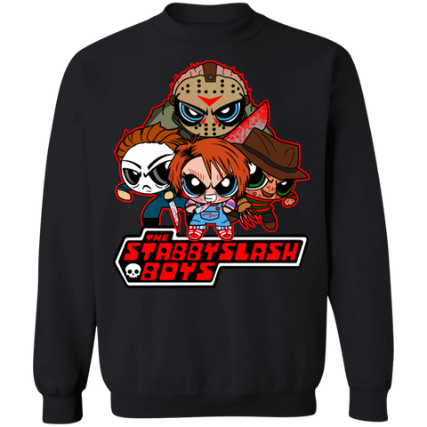 Stabby Slash Boys Sweater - Teem Meme