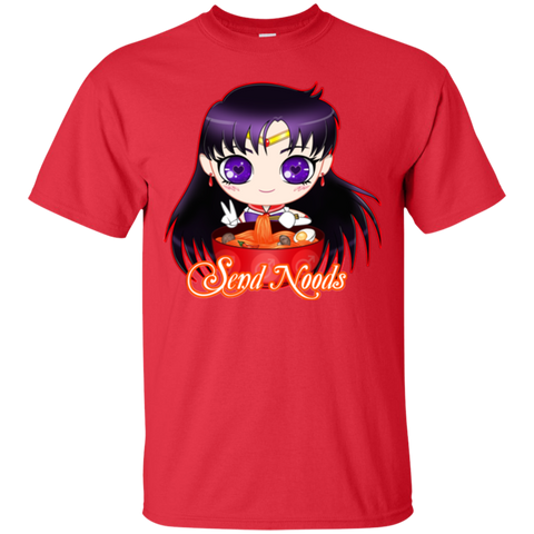 Sailor Mars Send Noods Basic Tee - Teem Meme
