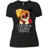 The Tyrion King Ladies' Slimfit Tee - Teem Meme