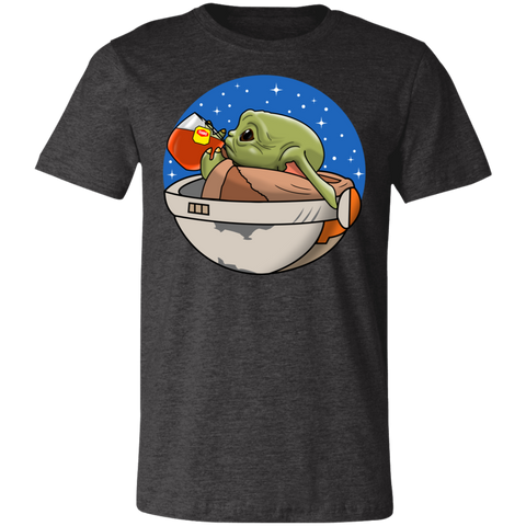 Baby Yoda None of My Business Bella Unisex Tee - Teem Meme