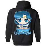 Sailor Mercury Send Noods Pullover Hoodie *BACK PRINT ONLY* - Teem Meme