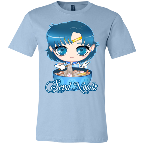 Sailor Mercury Send Noods Bella Unisex Tee - Teem Meme