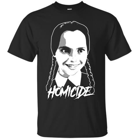 Wednesday Homicide Basic Tee - Teem Meme