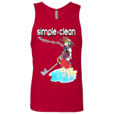 Simple and Clean Next Level Men's Tank - Teem Meme