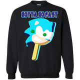 SANIC Popsicle Crewneck Sweater - Teem Meme