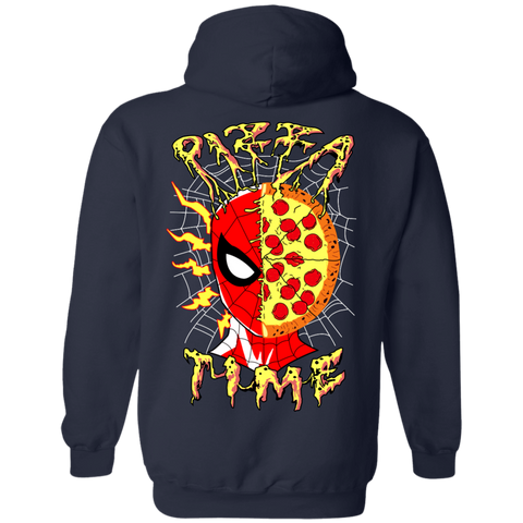 Pizza Time! Pullover Hoodie **BACK PRINT ONLY** - Teem Meme