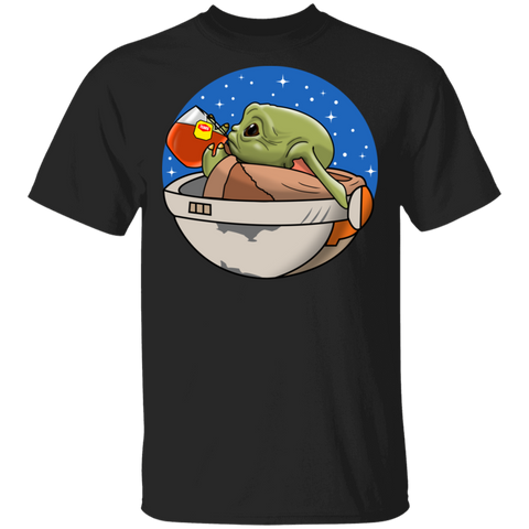 Baby Yoda None of My Business Basic Tee - Teem Meme