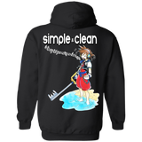 Simple and Clean Hoodie *BACK PRINT ONLY* - Teem Meme