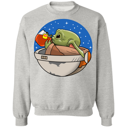 Baby Yoda None of My Business Sweater - Teem Meme