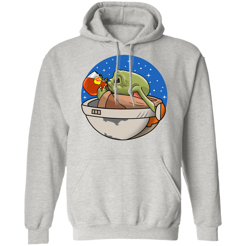 Baby Yoda None of My Business Pullover Hoodie