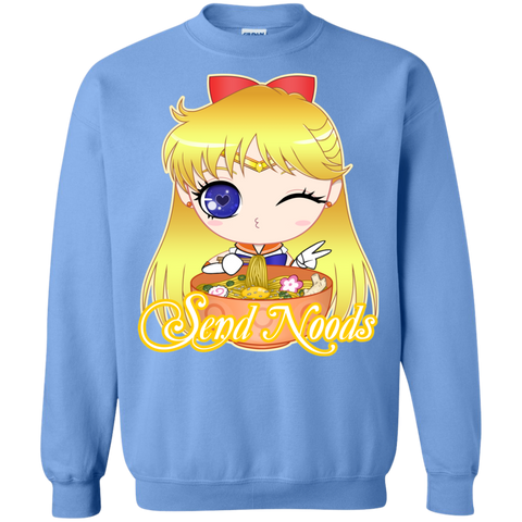 Sailor Venus Send Noods Crewneck Sweater - Teem Meme