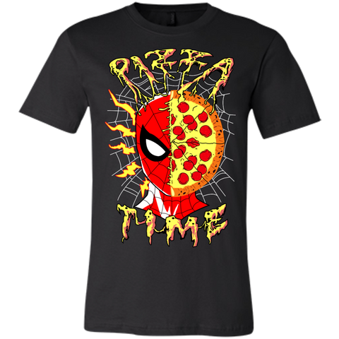 Pizza Time! Unisex Bella Tee - Teem Meme