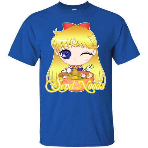 Sailor Venus Send Noods Basic Tee - Teem Meme