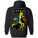 Cute Anubis Pullover Hoodie *BACK PRINT ONLY* - Teem Meme
