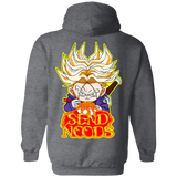 Trunks Send Noods Hoodie *BACK PRINT ONLY* - Teem Meme