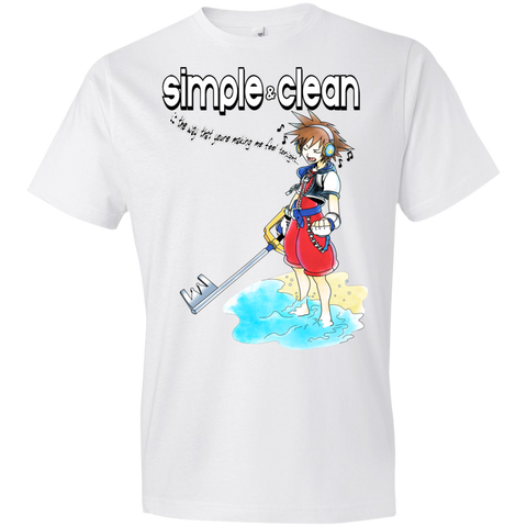 Simple and Clean KIDS Tee - Teem Meme