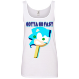 SANIC Popsicle Ladies' Tank Top - Teem Meme