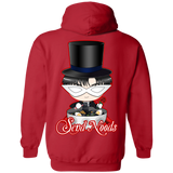 Tuxedo Mask Send Noods Pullover Hoodie  *BACK PRINT ONLY* - Teem Meme