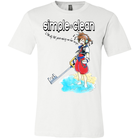 Simple and Clean Bella Unisex Tee - Teem Meme