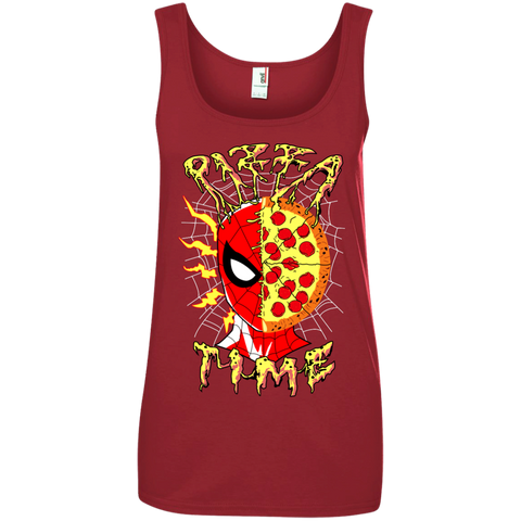 Pizza Time! Ladies' Tank Top - Teem Meme