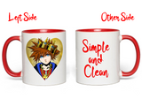Notorious Sora Simple and Clean Accent Mug - Teem Meme