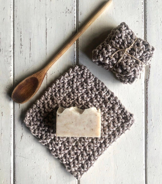 Soap & Washcloth Set