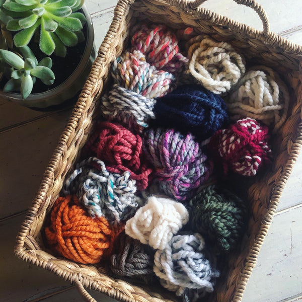 Lot of Scrap Yarn
