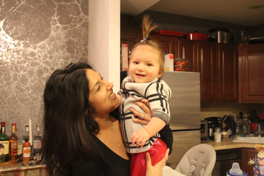 REAL MOMS. REAL TALK. Ann Basu, Account Executive at Google and Brooklyn Mom, talks about transitioning to motherhood.