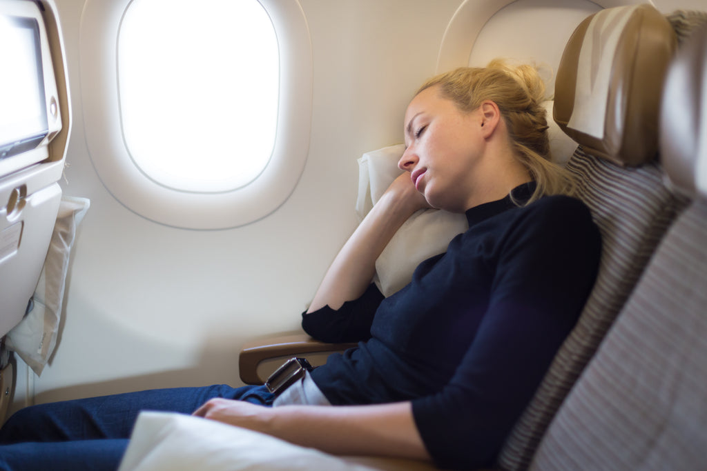 What happens to your skin when you jet away?