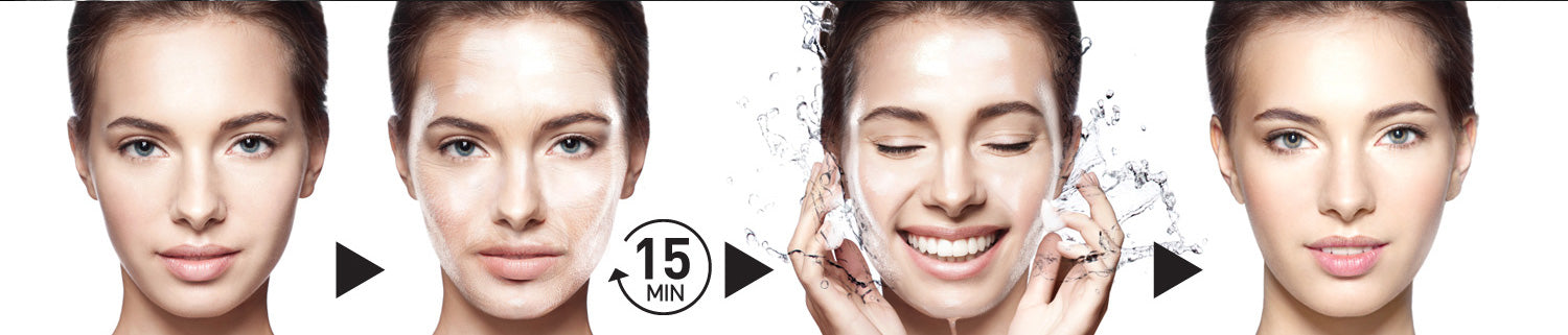 age freeze gel mask how to use