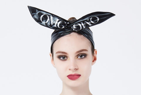 OMG! PLATINUM HAIRBAND black
