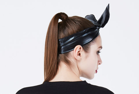 OMG! PLATINUM HAIRBAND black2