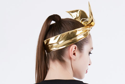 OMG! PLATINUM HAIRBAND gold2