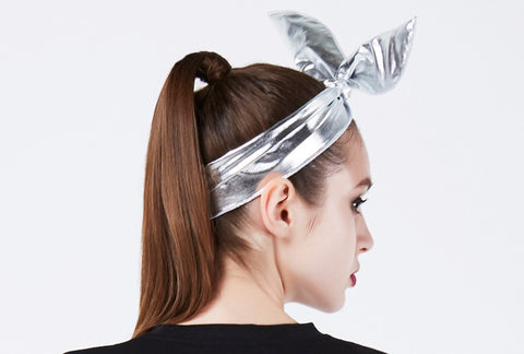 OMG! PLATINUM HAIRBAND silver2