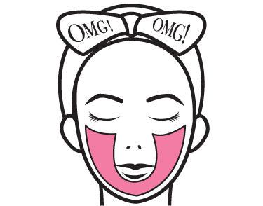 omg-4in1-kit-zone-system-mask-u-zone-kaolin-clay-mask