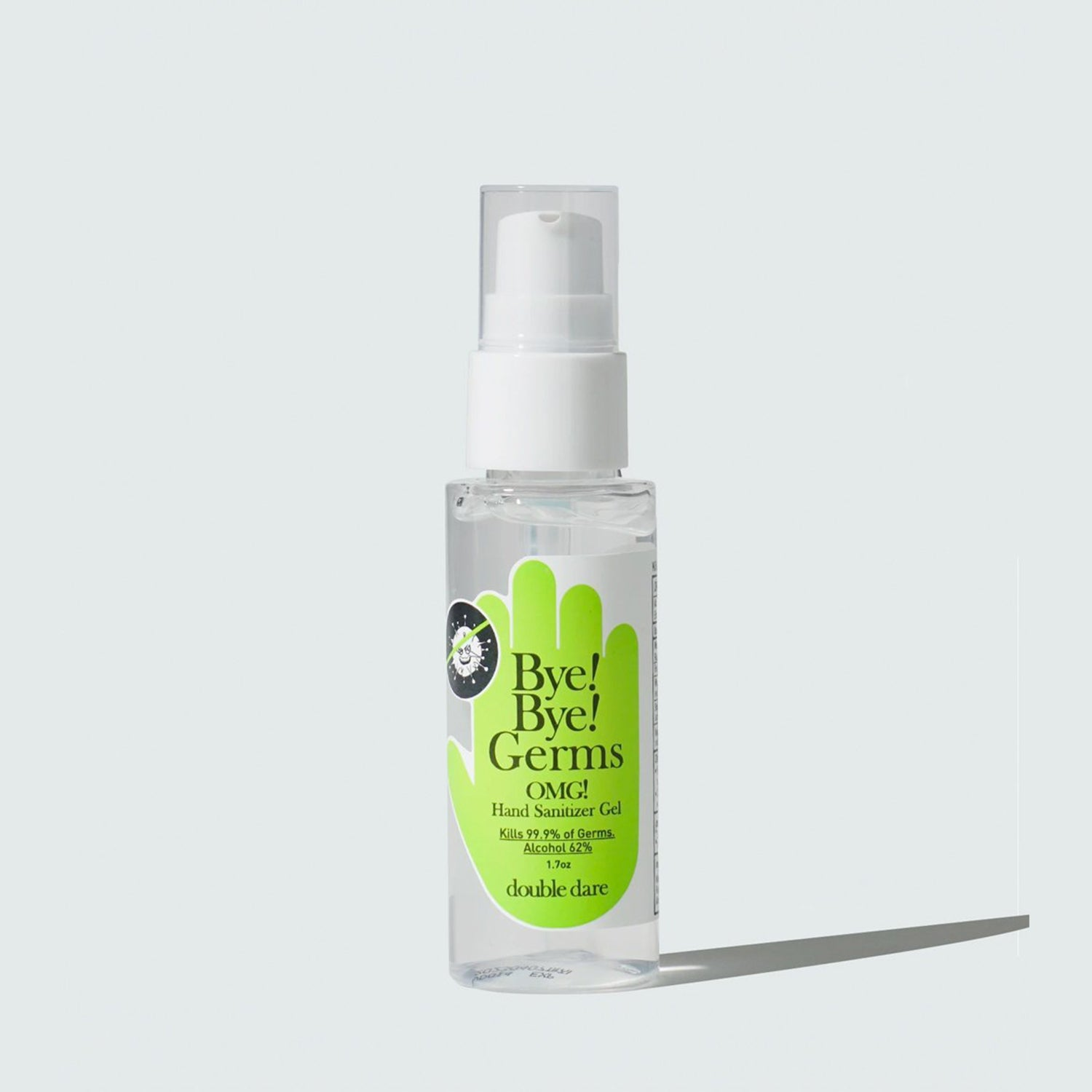Bye! Bye! Germs OMG!<br>Hand Sanitizer Gel - DOUBLE DARE