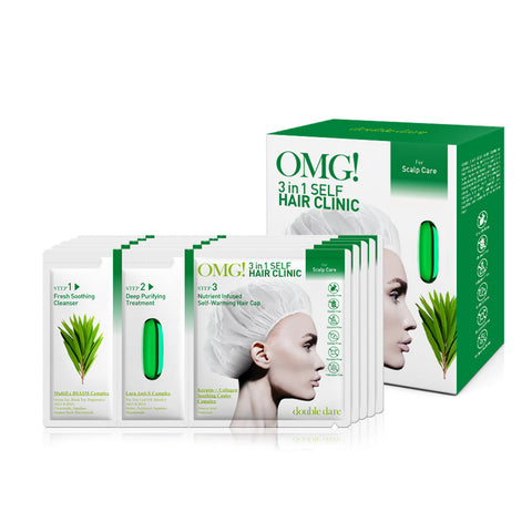 OMG! 3 in 1 Self HAIR CLINIC for Scalp Care - DOUBLE DARE